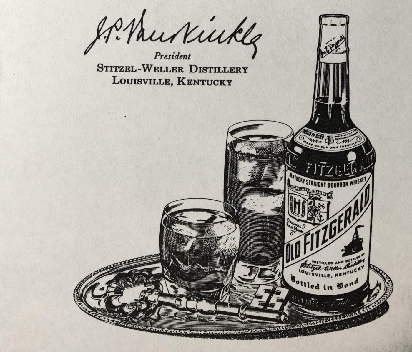 Old Fitzgerald sour mash