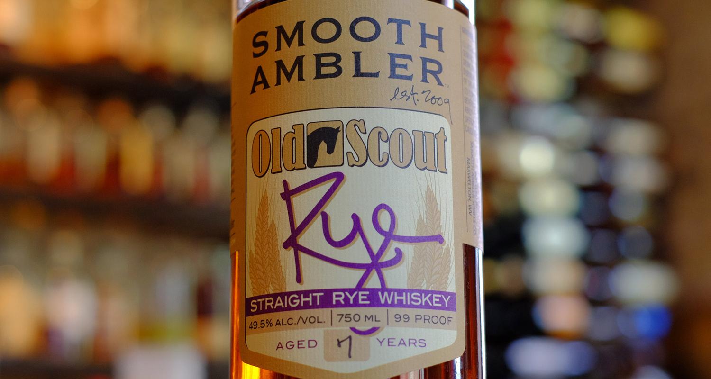 Smooth Ambler Old Scout Rye 7yo