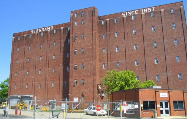 Warehouse della MGP presso Lawrenceburg
