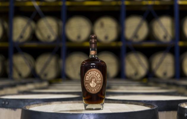 Mitchers 25 bourbon