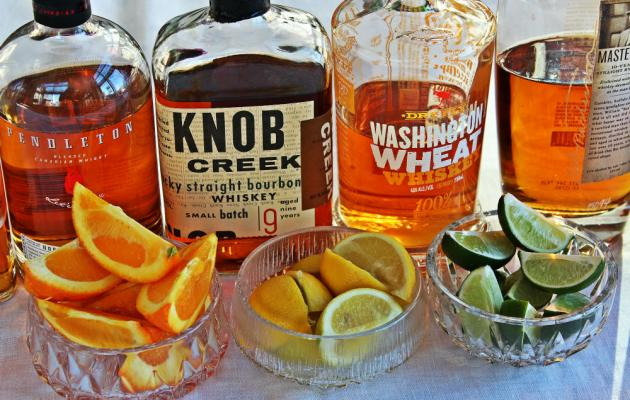 Degustare bourbon